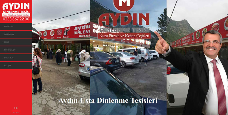 Aydın Usta Pirzola Osmaniye Web Tasarım