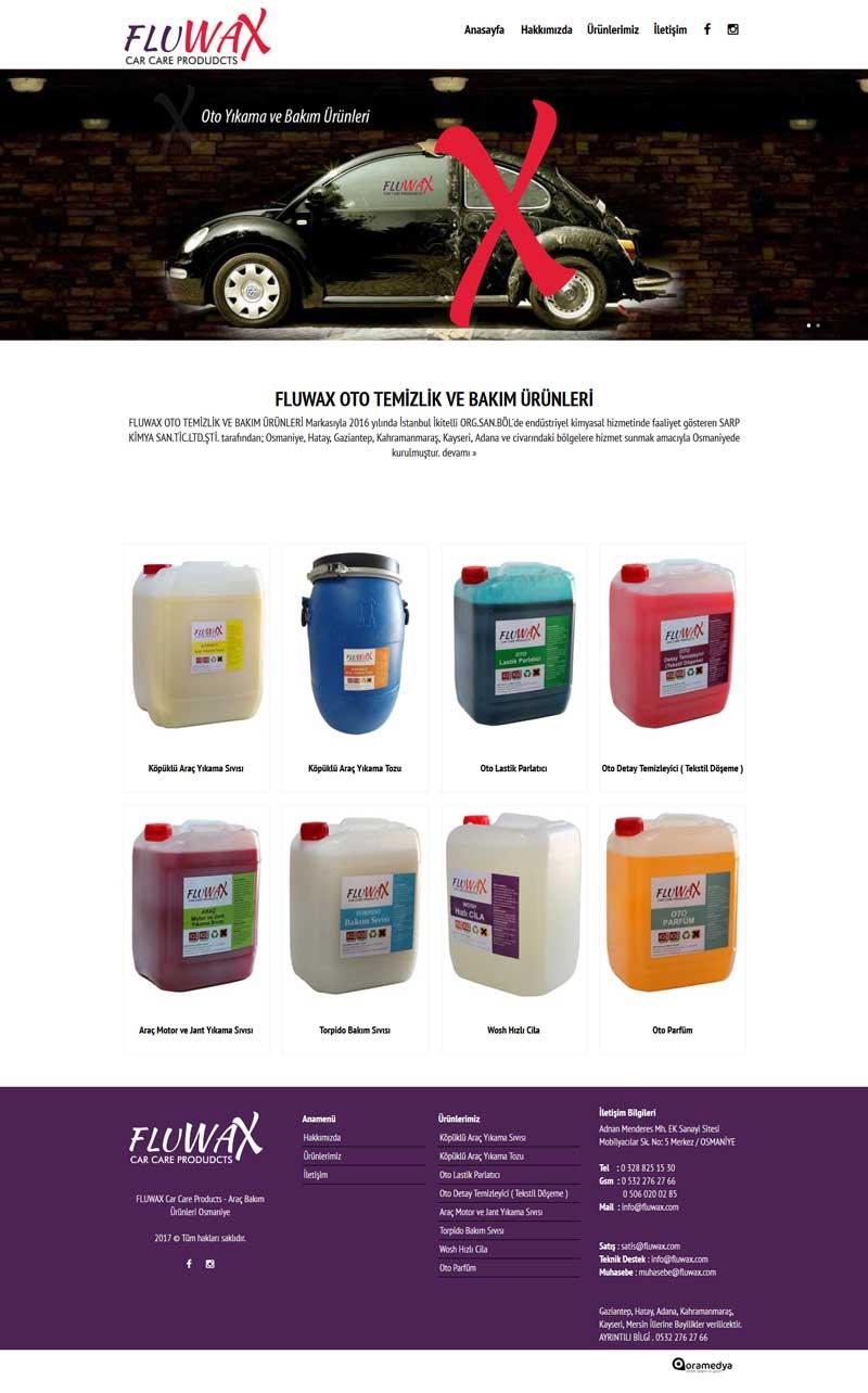 FLUWAX Araç Bakım ve Temizlik Ürünleri Osmaniye