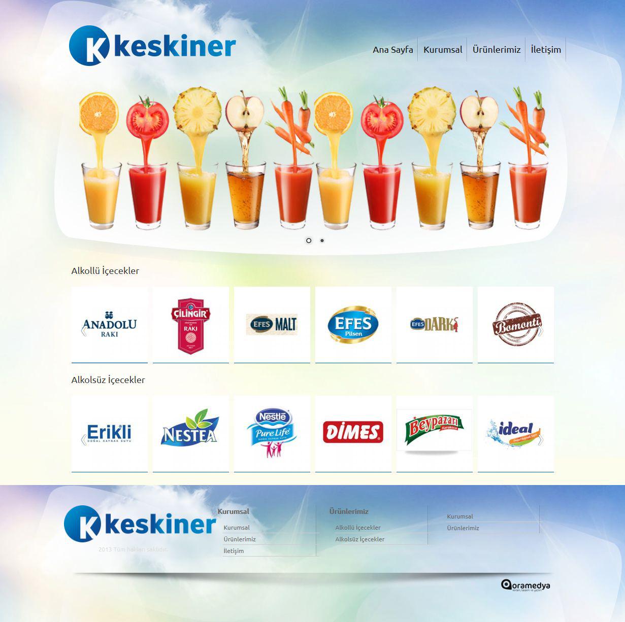 Keskiner Yatırım ve Ticaret AŞ Osmaniye Web Tasarım