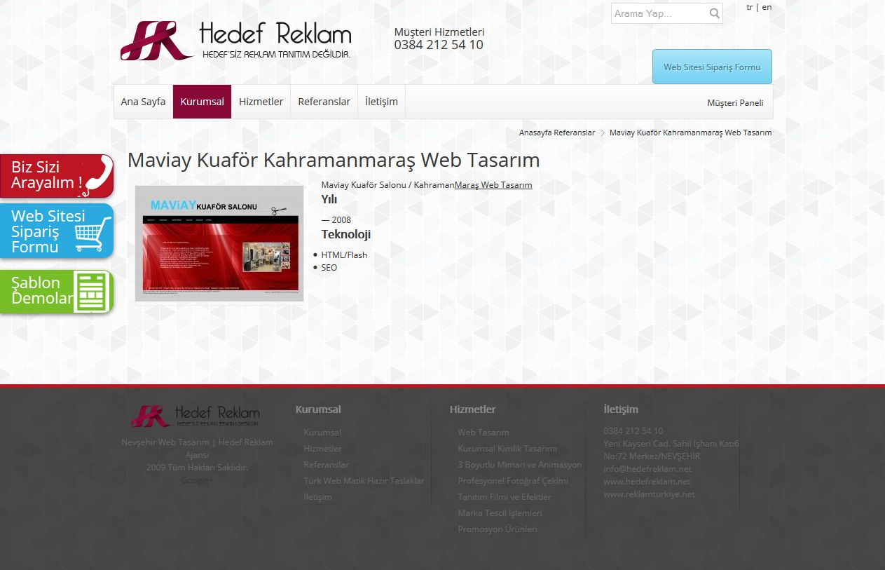 Kuaför Web Tasarım Paketleri