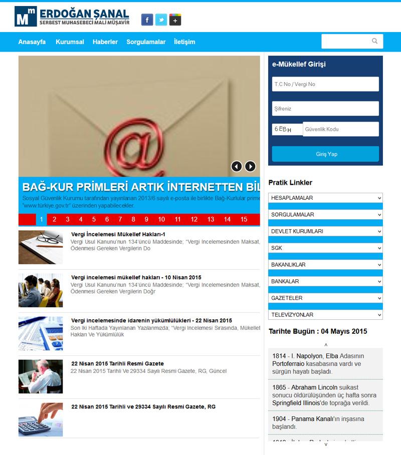 Muhasebeci Web Tasaım Paketi