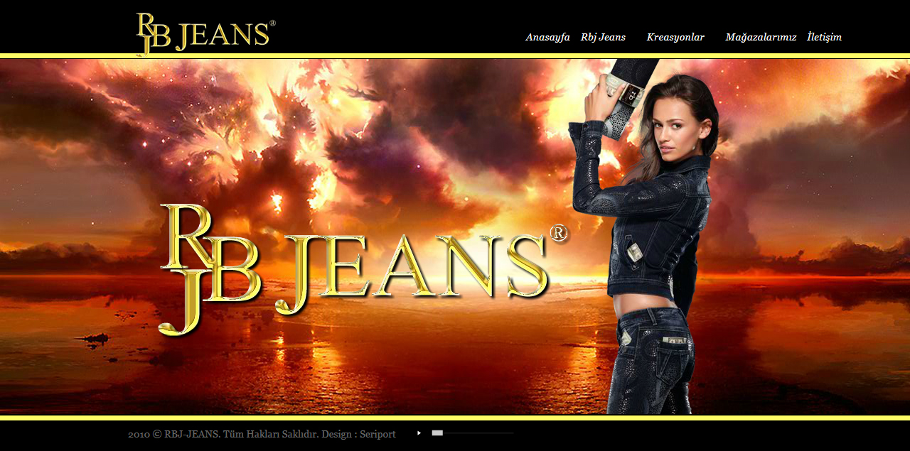 Rbj-Jeans Türkiye Web Tasarım